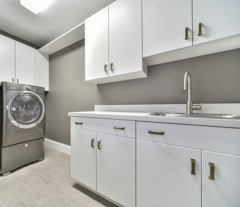 Why We Love Laminate For Laundry Rooms Metropolitan Cabinets