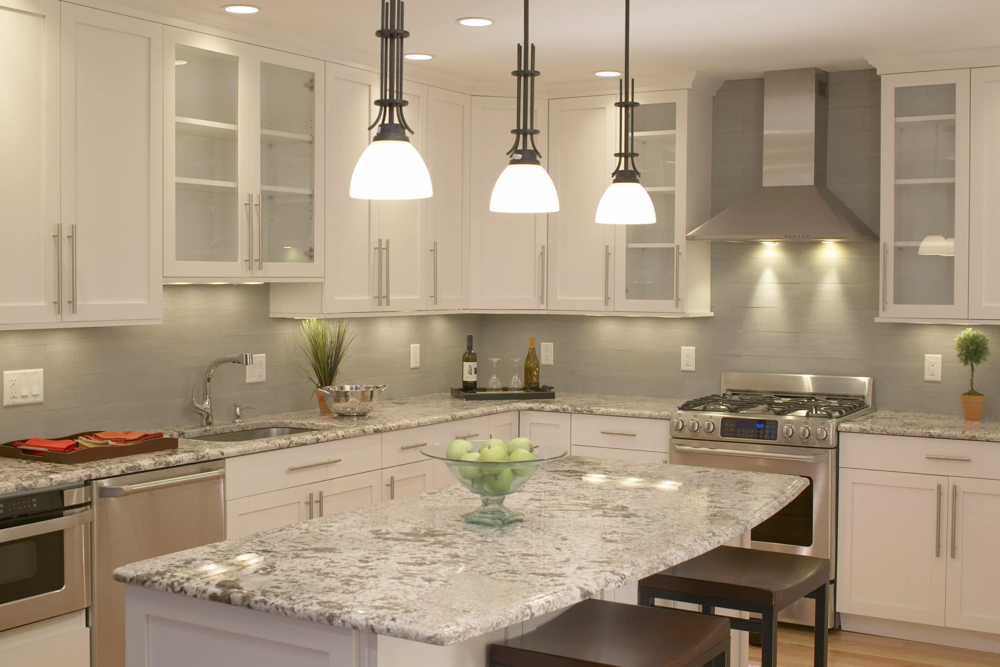 Natural Stone - Metropolitan Cabinets focus keywork