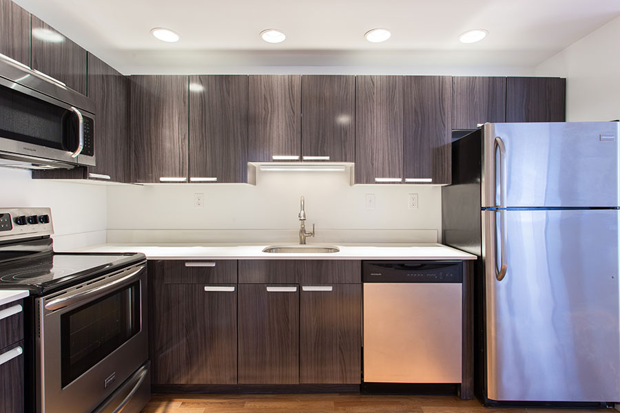 Kitchen Cabinets: Copley Gloss In Audacity Melamine