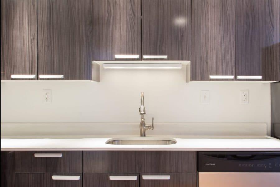 Laminate Cabinets. Metropolitan Fabricates Contemporary ...