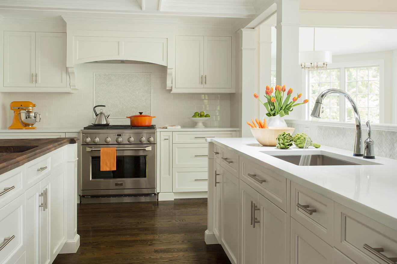 Custom massachusetts kitchen cabinets and countertops for Kitchen cabinets and countertops