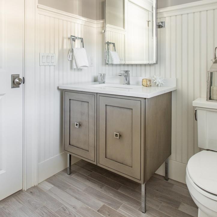 Get The Look For Less Bathroom Vanity Metropolitan Cabinets