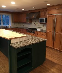 kitchen cabinets height a colorquartz makeover metropolitan cabinets 3013