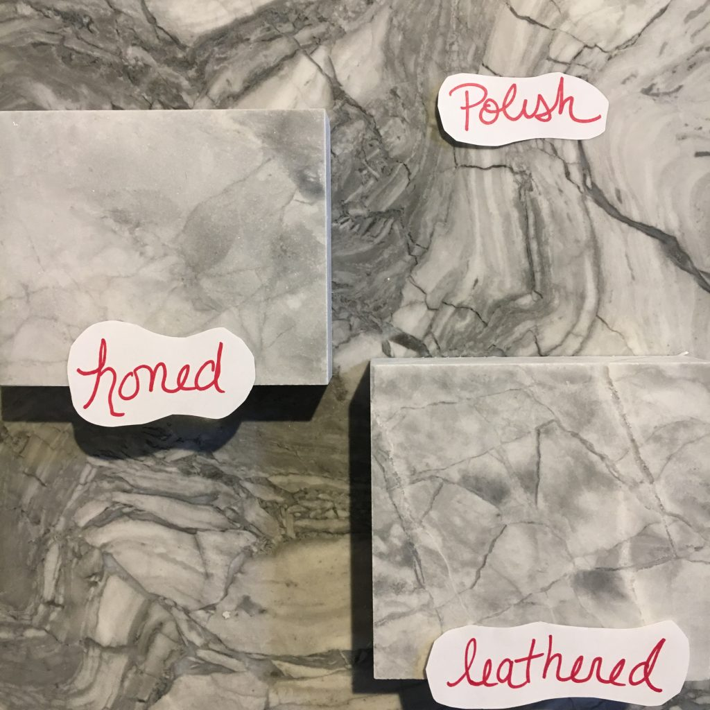 Honed Vs Polished Vs Leathered Countertops Metropolitan
