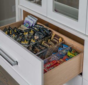 kitchen snack drawer
