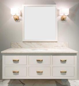 inset bathroom vanity