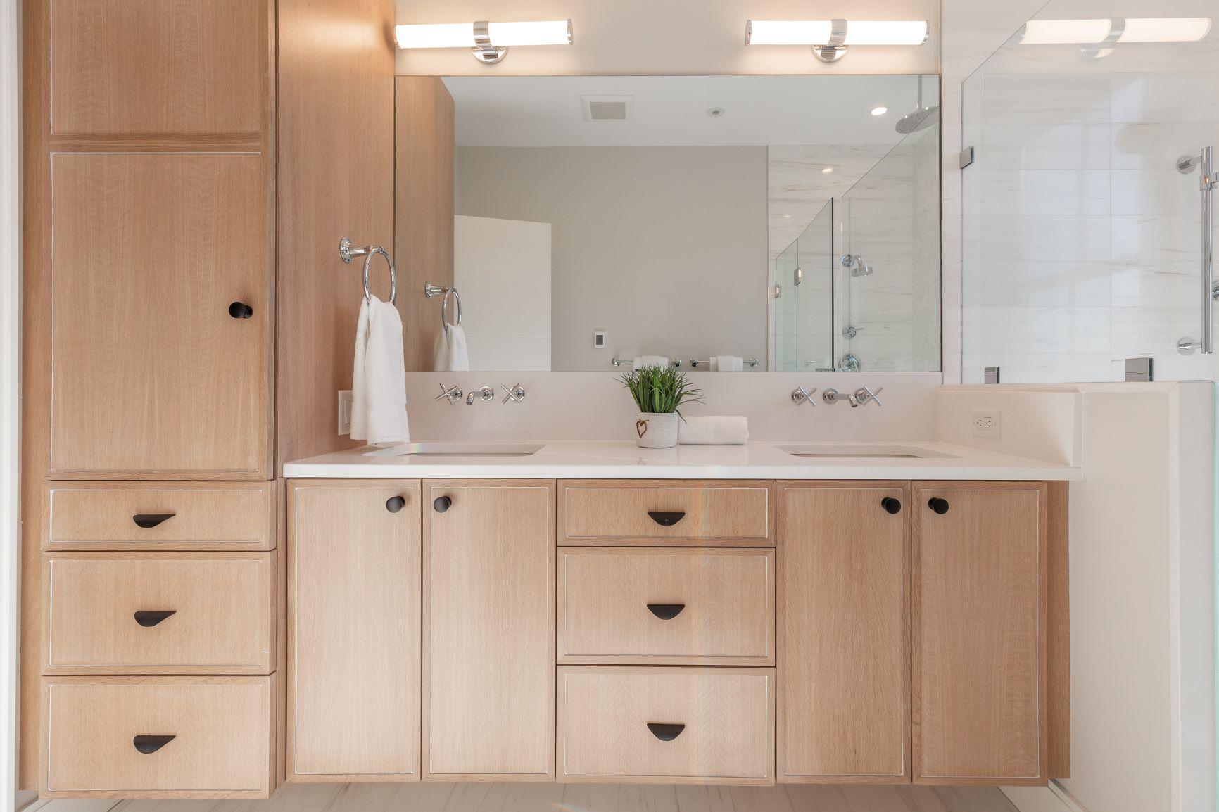 Hot Trend 2021 Warm Wood Vanities Metropolitan Cabinets