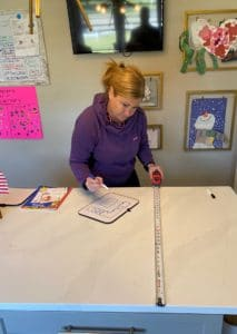 measuring your countertops