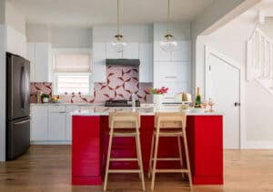 red kitchen cabinets massachusetts